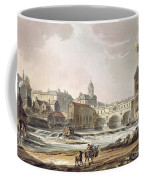 New Bridge, From Bath Illustrated Coffee Mug