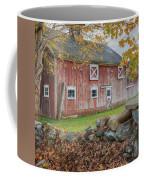 New England Barn Square Coffee Mug