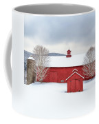 New England Barns Square Coffee Mug