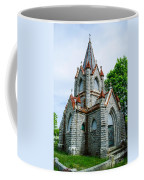 New England Cemetery Mausoleum Coffee Mug