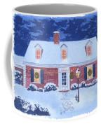 New England Christmas Coffee Mug by Mary Helmreich