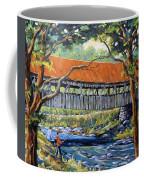 New England Covered Bridge By Prankearts Coffee Mug