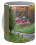 New England Farm Square Coffee Mug