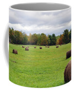 New England Hay Bales Coffee Mug