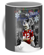 New England Patriots Christmas Card Coffee Mug