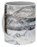 New England Winter Farms Coffee Mug by Bill Wakeley