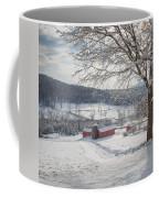 New England Winter Farms Morning Square Coffee Mug