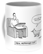 New, Improved Cat 'can I Get You Anything?' Coffee Mug