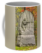 New Jersey At Gettysburg - 13th Nj Volunteer Infantry Near Culps Hill Autumn Coffee Mug
