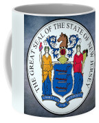 New Jersey State Seal Coffee Mug