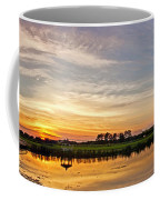 New Jersey Sunset Panoramic Coffee Mug