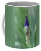 New Life Cycle Iris Bud Coffee Mug