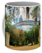 New Orleans City Park - Pizzati Gate Entrance Coffee Mug