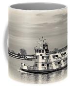 New Orleans Ferry Bw Coffee Mug