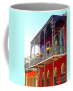 New Orleans French Quarter Architecture 2 Coffee Mug