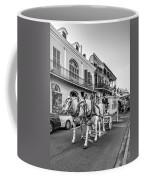 New Orleans Funeral Monochrome Coffee Mug