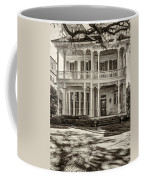 New Orleans Home - Paint Sepia Coffee Mug
