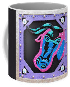 New Orleans Mardi Gras Cow Coffee Mug