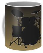 New Orleans Saints Drum Set Coffee Mug