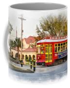 New Orleans Streetcar Paint Coffee Mug