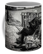 New Orleans Waterfront Jazz Coffee Mug