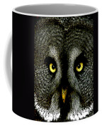 New Photographic Art Print For Sale   Great Grey Owl Coffee Mug