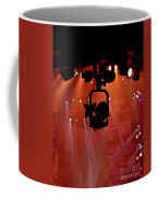 New Photographic Art Print For Sale Lights Camera Action Backstage At The American Music Award Coffee Mug
