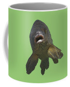 New Photographic Art Print For Sale   Open Mouthed Fish In Green Water Coffee Mug