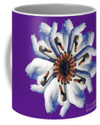 New Photographic Art Print For Sale Pop Art Swan Flower On Purple Coffee Mug