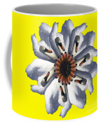 New Photographic Art Print For Sale Pop Art Swan Flower On Yellow Coffee Mug