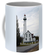 New Presque Isle Lighthouse Coffee Mug