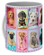New Puppy Multipic Coffee Mug by Greg Cuddiford