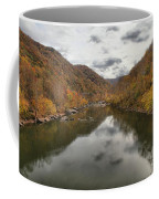 New River Fall Reflections Coffee Mug