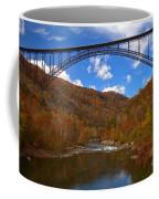 New River Gorge Fiery Fall Colors Coffee Mug