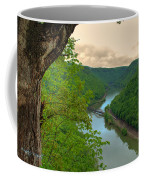New River Railroad Bridge At Hawk's Nest  Coffee Mug