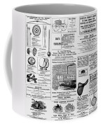 New World Advertising Coffee Mug by Richard Reeve