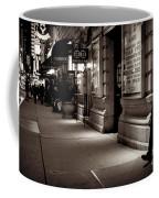 New York At Night - The Phone Call - Theatre District Coffee Mug