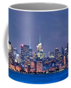 New York Blue Hour Panorama Coffee Mug
