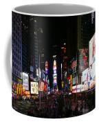 New York - Broadway And Times Square Coffee Mug