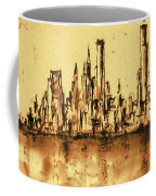 New York City Skyline 79 - Water Color Panorama Coffee Mug