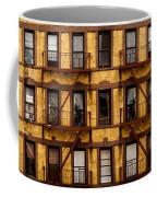 New York City Apartment Building Study Coffee Mug