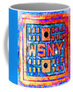 New York City Autumn Street Detail Pop Painting Coffee Mug