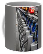 New York City Bikes Coffee Mug