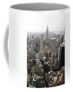 New York City Canyons Coffee Mug