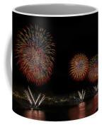 New York City Celebrates The Fourth Coffee Mug by Susan Candelario