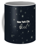 New York City Girl Coffee Mug by Pati Photography
