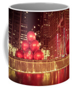 New York City Holiday Decorations Coffee Mug