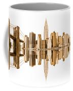 New York City Landmarks - Usa Coffee Mug