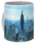 New York City Skyline Summer Day Coffee Mug