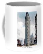 New York City - The Flatiron Building - Fifth Avenue - 1904 Coffee Mug